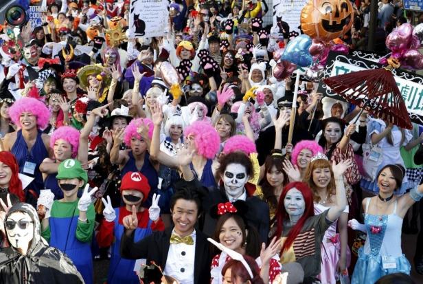 halloween japann